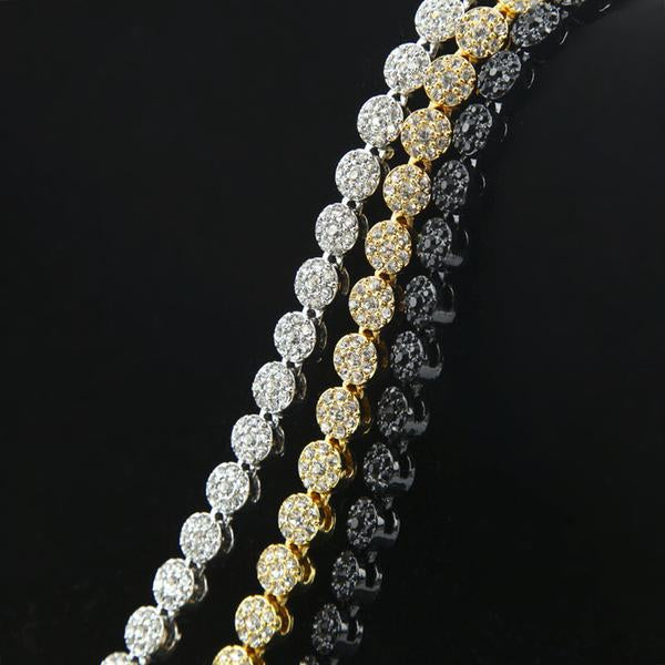Cluster Micro Diamond Chain