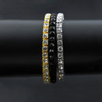 Single Row Micro Diamond Tennis Bracelet
