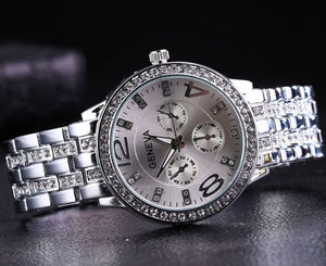 Geneva Micro Diamond Watch
