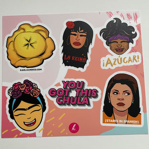 Karla and Co Sticker Set