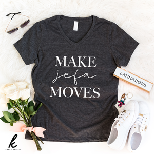 Make Jefa Moves V-Neck