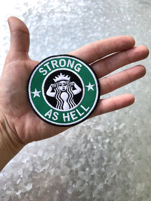 Strong as Hell Patch - That Oregon Girl