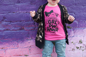 GRL PWRAWR Tee - That Oregon Girl