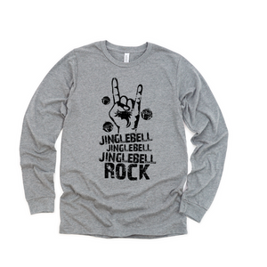 Jingle Bell Rock Long Sleeved Toddler/Kids Tee