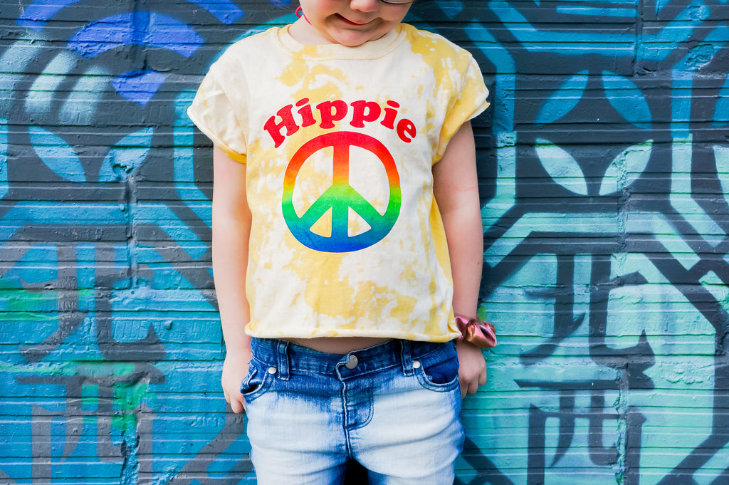 Rainbow Hippie on Acid - Toddler/Kids Tee - That Oregon Girl