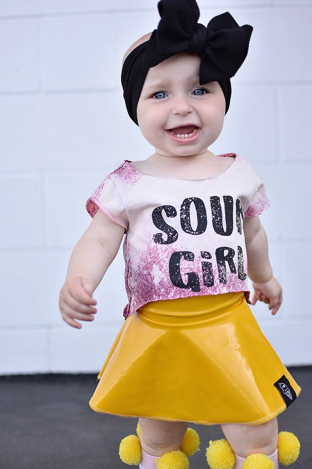 Sour Girl Acid Washed Tee - That Oregon Girl
