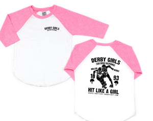Derby Girls Toddler/Kids Raglan