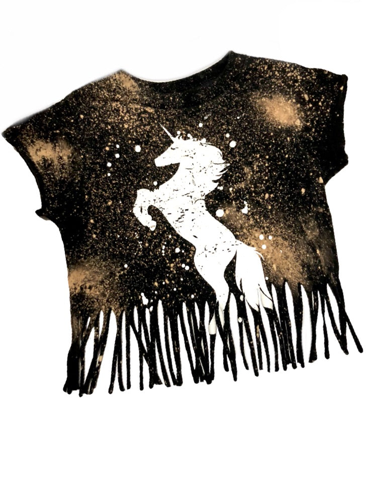 Unicorn Acid Washed Tee - That Oregon Girl