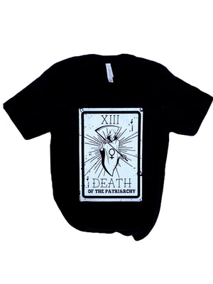 Death of the Patriarchy Tarot Card Unisex Adult Tee - That Oregon Girl