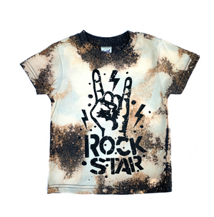 Rockstar Acid Washed Toddler/Kids Tee