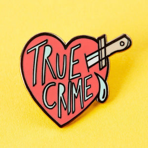 True Crime Enamel Pin - That Oregon Girl