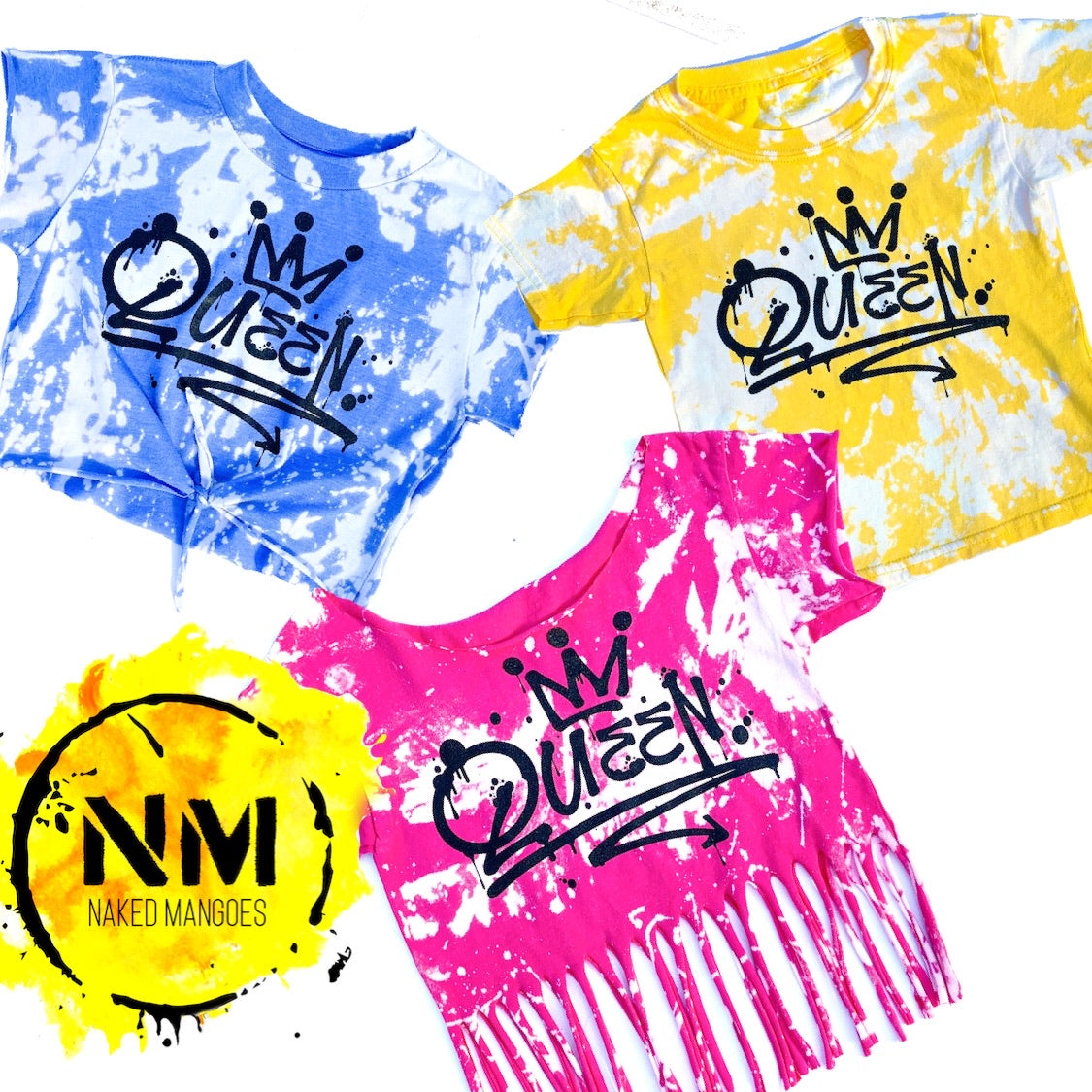 Queen Acid Washed Tee - That Oregon Girl
