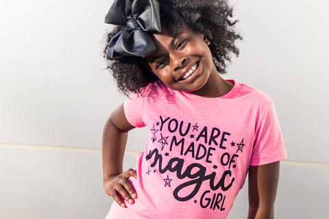 You Are Made of Magic, Girl Toddler/Kids Tee