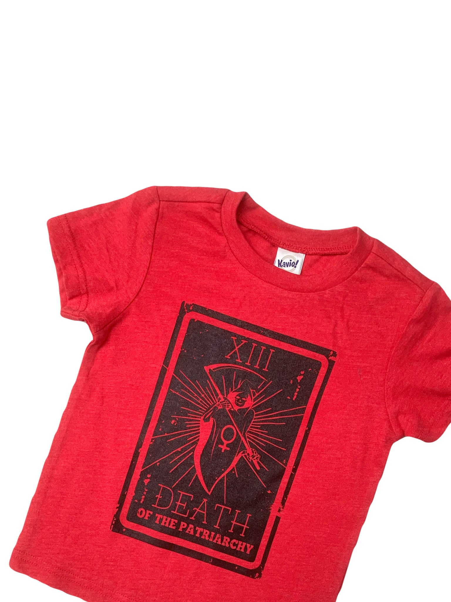 Death of the Patriarchy Tarot Card Toddler/Kids Regular Tee - That Oregon Girl