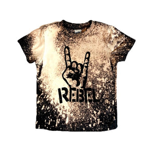 Rebel Acid Washed Tee - That Oregon Girl