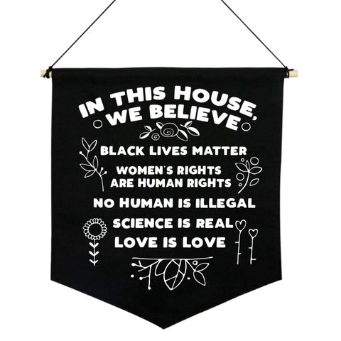 In This House Pennant Flag