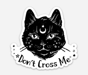 Mystic Cat Sticker - That Oregon Girl