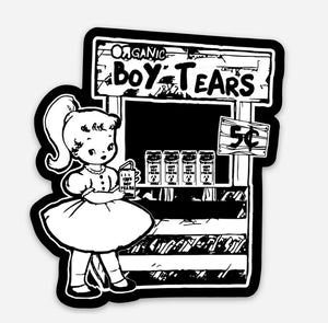 Boy Tears Vinyl Sticker - That Oregon Girl