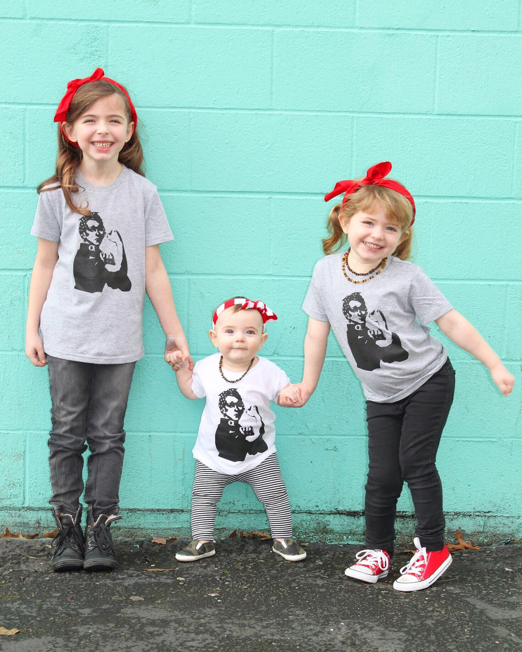 Rosie the Riveter Toddler Tee - That Oregon Girl