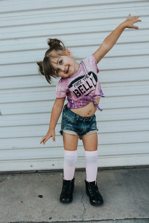 Free the Belly Acid Washed Tee - That Oregon Girl