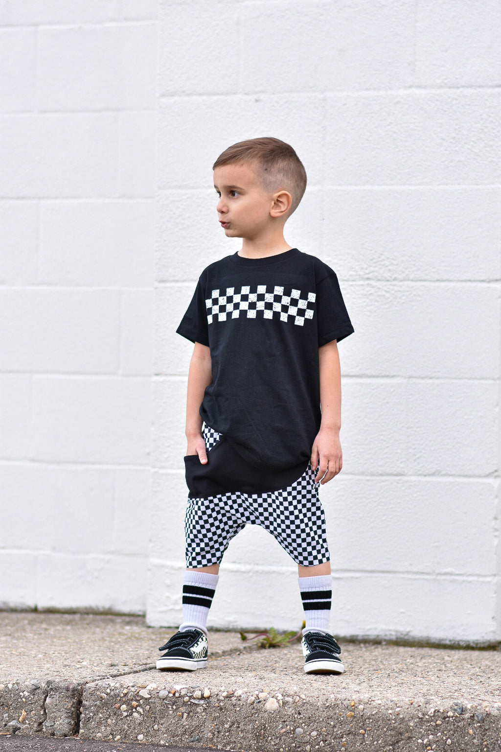 Basic Checker Tee