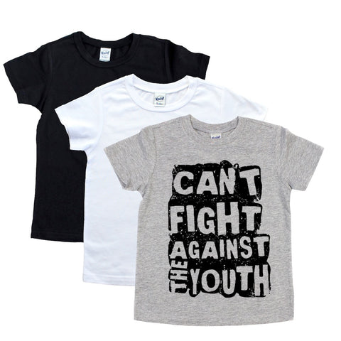 Can't Fight Against the Youth Toddler/Kids Regular Tee - That Oregon Girl