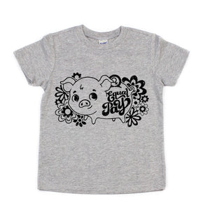 Equal Pay Piggy Bank Toddler/Kids Tee - That Oregon Girl
