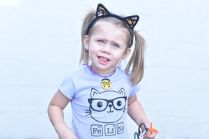 Smarty Cat - Toddler/Kids Tee - That Oregon Girl