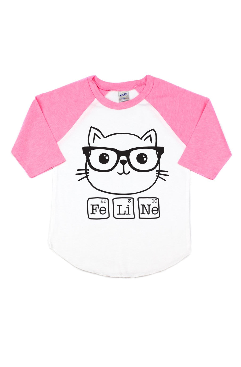 Smarty Cat Raglan Tee - That Oregon Girl