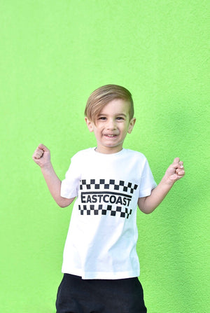 Eastcoast Checker Toddler/Kids Tee - That Oregon Girl