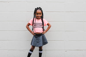 Westcoast Checker Toddler/Kids Tee - That Oregon Girl