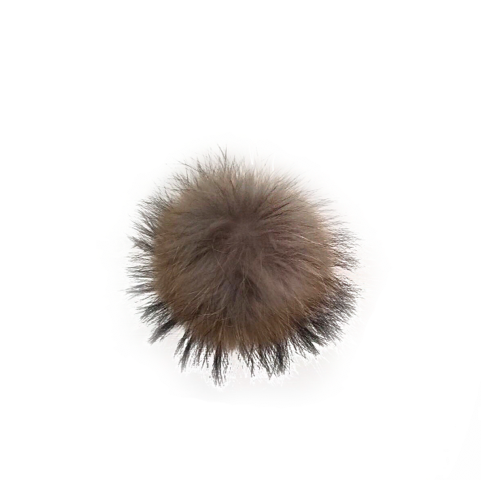 Faux Fur Pom Pom Natural - Pom Pom London
