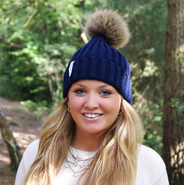 Original Navy - Pom Pom London