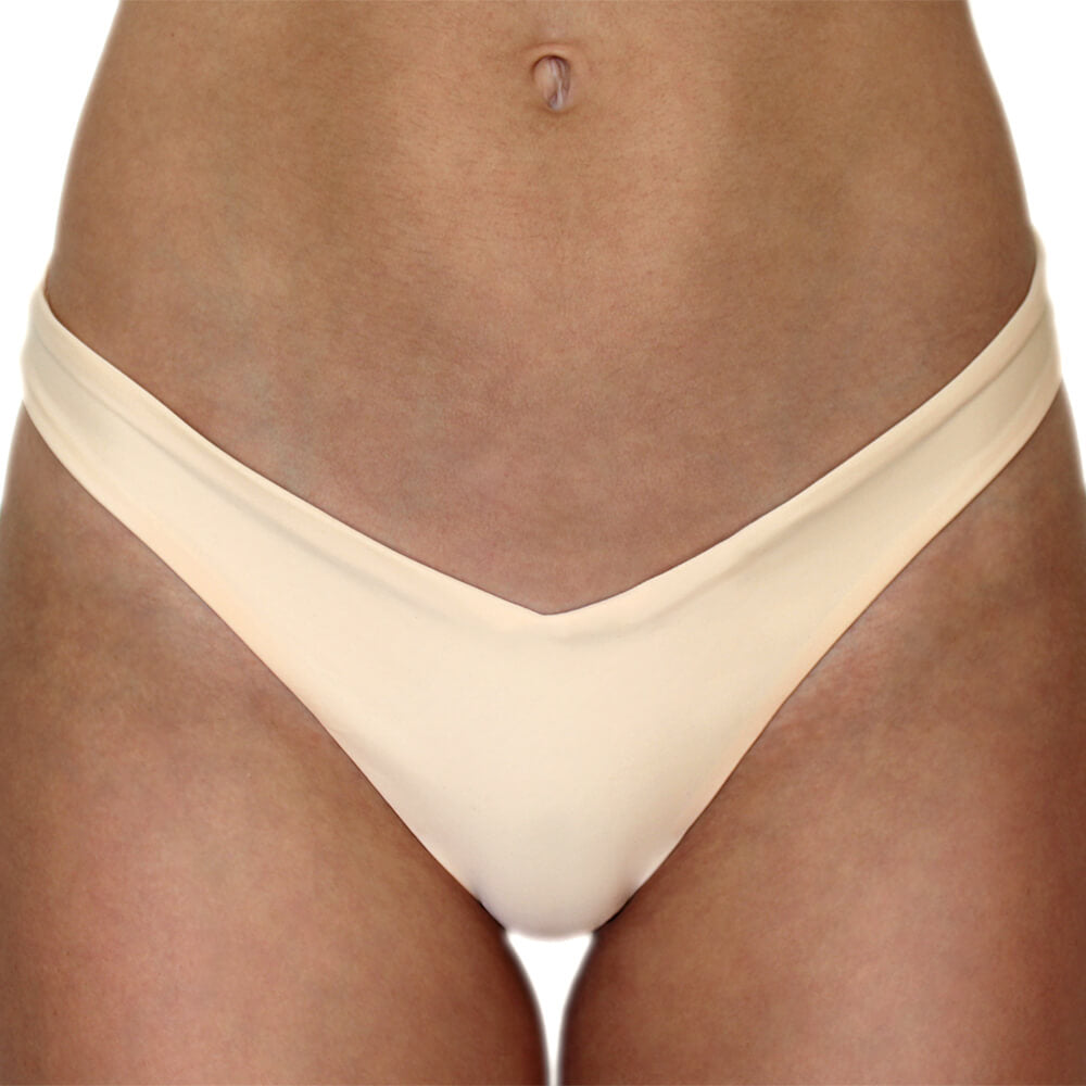Lucia Bottom in Peach