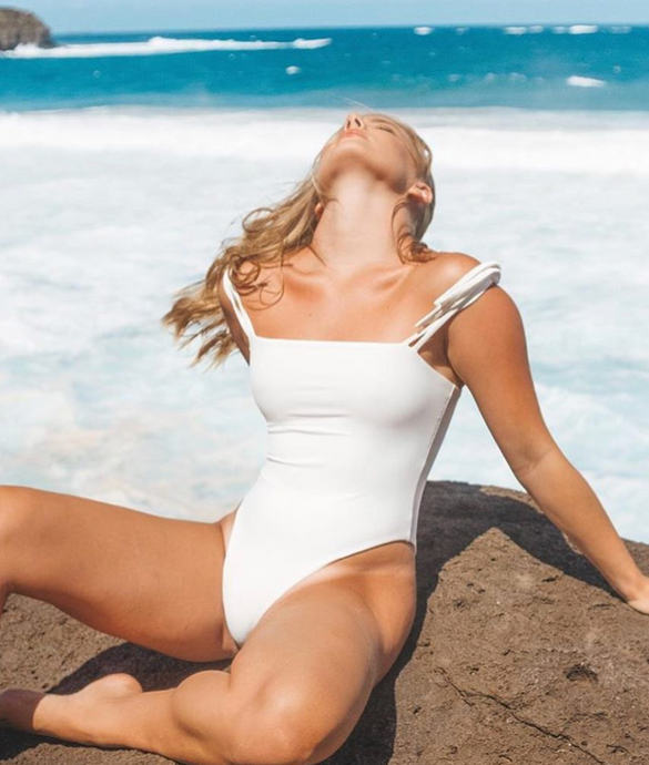 Lola One Piece in Ivory
