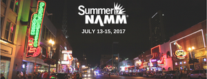 Summer NAMM 2017 | July 13-15 | Nashville TN
