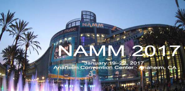 NAMM 2017 + RHFX Phaser Release | January 19-22 | Anaheim CA