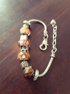 Orange fun color bracelet