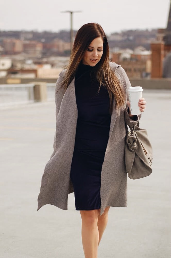 Grey Skies Overcoat