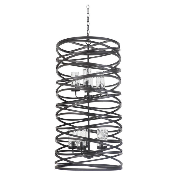 Mariana Home - Finley 9 Light Chandelier - Bronze Finish