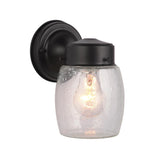 Belleview Outdoor Wall Lamp - Black Finish