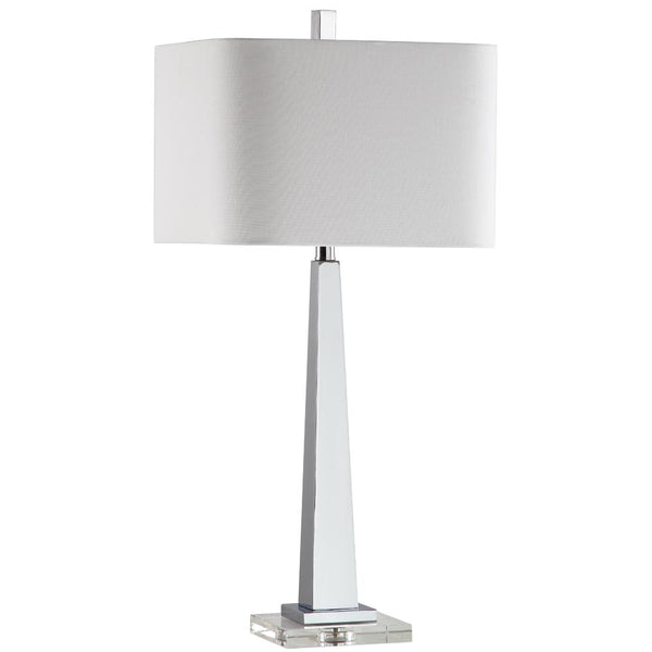 Modern Table Lamp - Silver