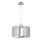 Mariana Home - Regal 4 Lt Pendant - Polished Nickel