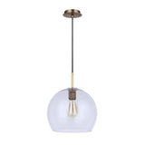 Gallagher 1LT Pendant - Aged Brass