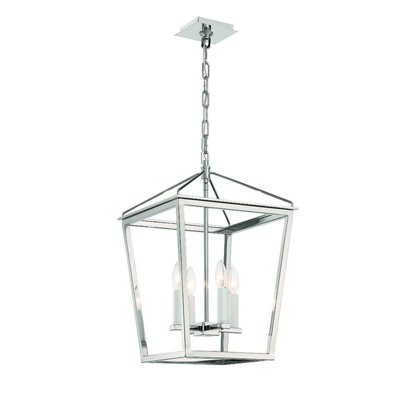 Lucent 4LT Lantern - Polished Nickel - Small