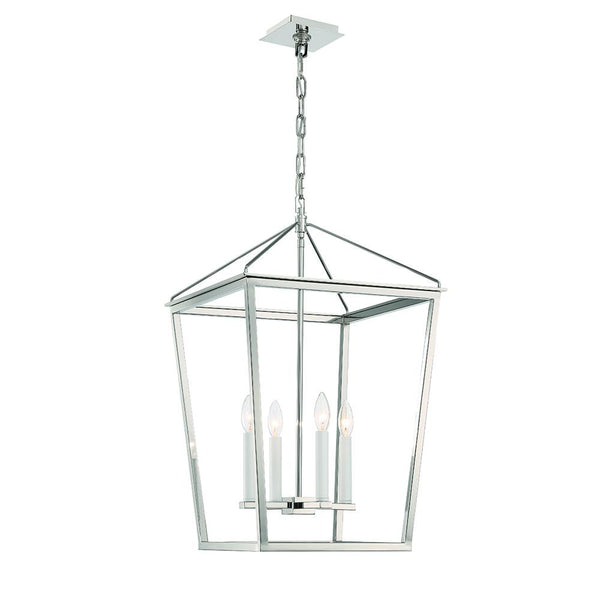 Lucent 4LT Lantern - Polshed Nickel - Large
