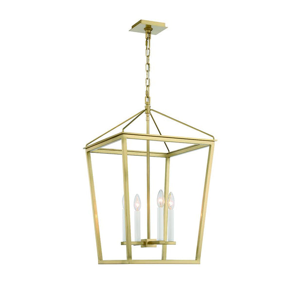 Lucent 4LT Lantern - Aged Brass - Large