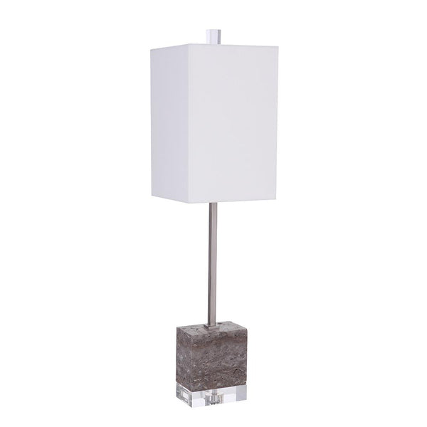 Mariana Home - Nora 1 Lt Table Lamp - Brushed Nickel