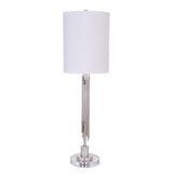 Mariana Home - Cruz 1 Lt Table Lamp - Antique Silver Leaf