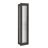 Seneca One Light Large Outdoor Wall Lantern - Bronze Finish